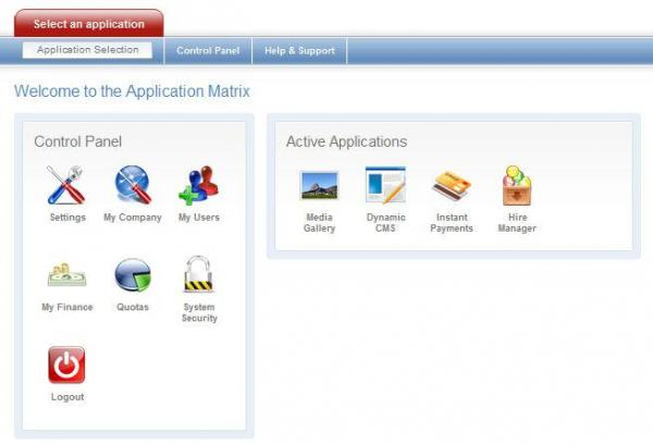 Integrated modules in Administration Portal
